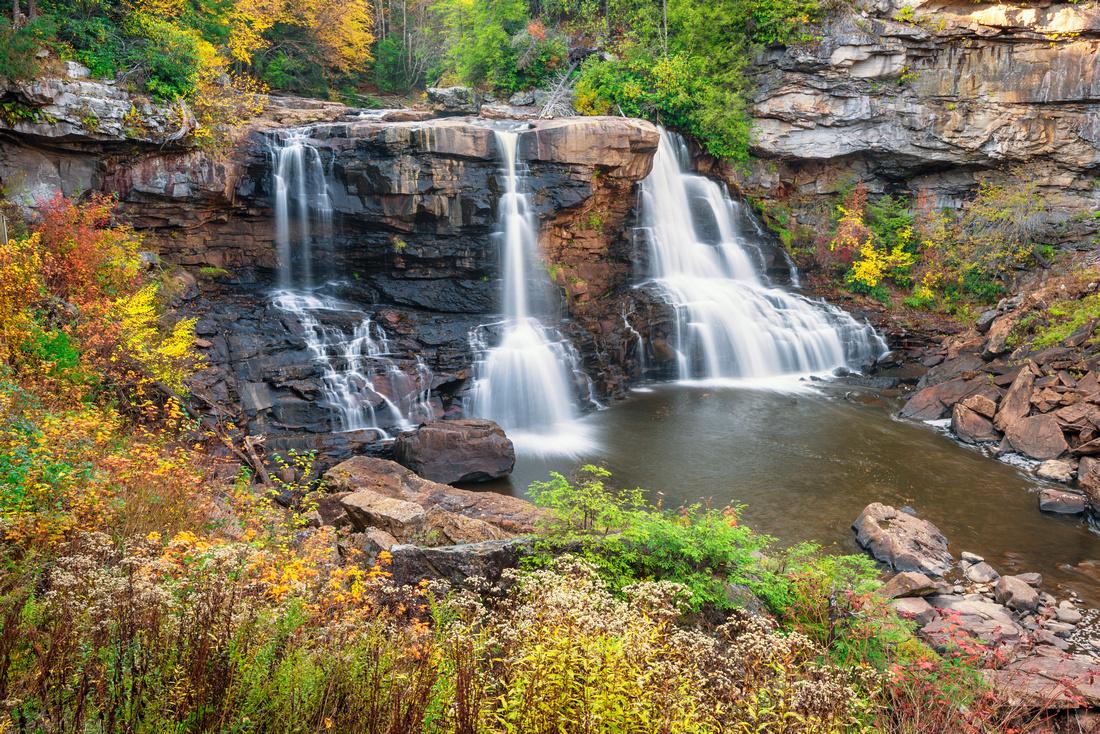 Blackwater Fall During Fall