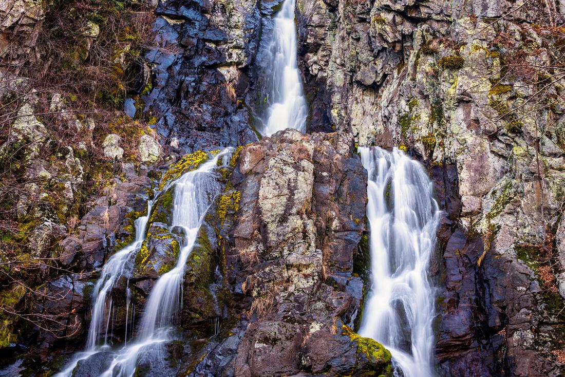 South River Falls Close Up
