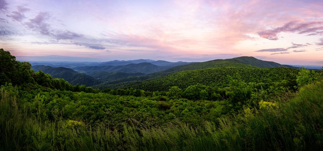 Range View Overlook Pano