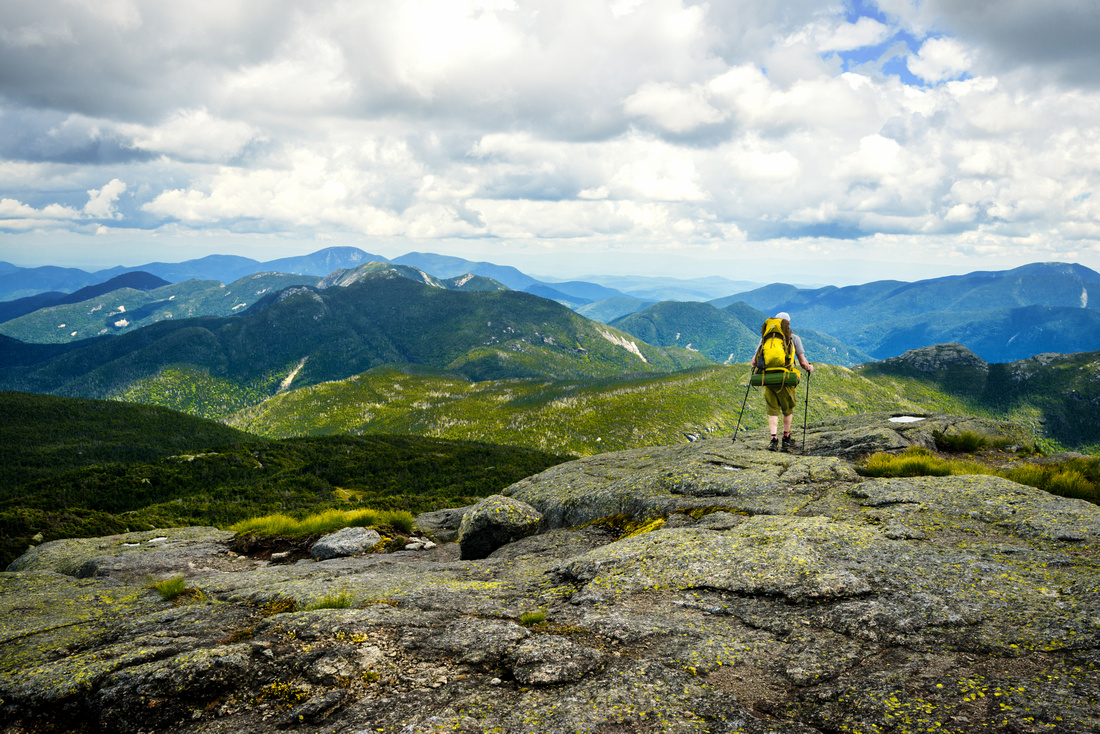 Backpacking Mount Marcy