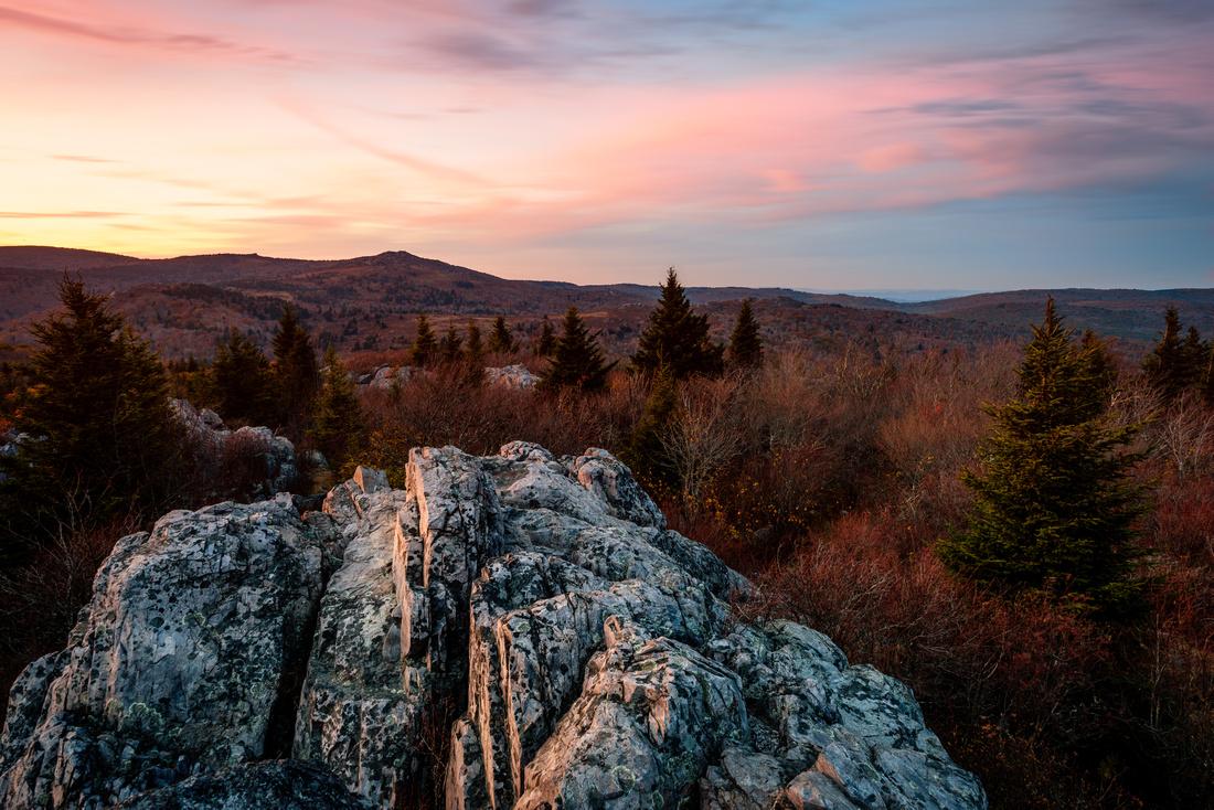 Big Pinnacles Overlook