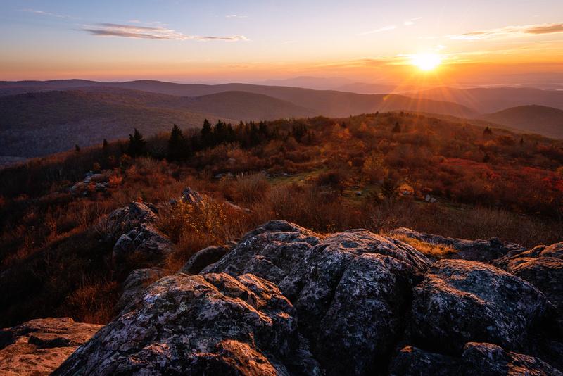 Wilburn Ridge Sunrise