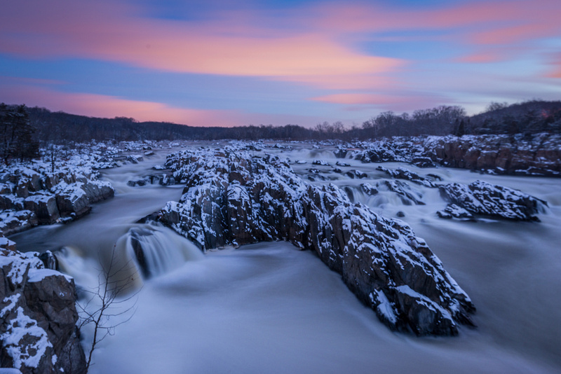 Sunrise at Great Falls National Park