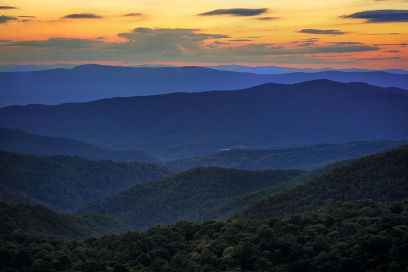The Point Overlook Sunset