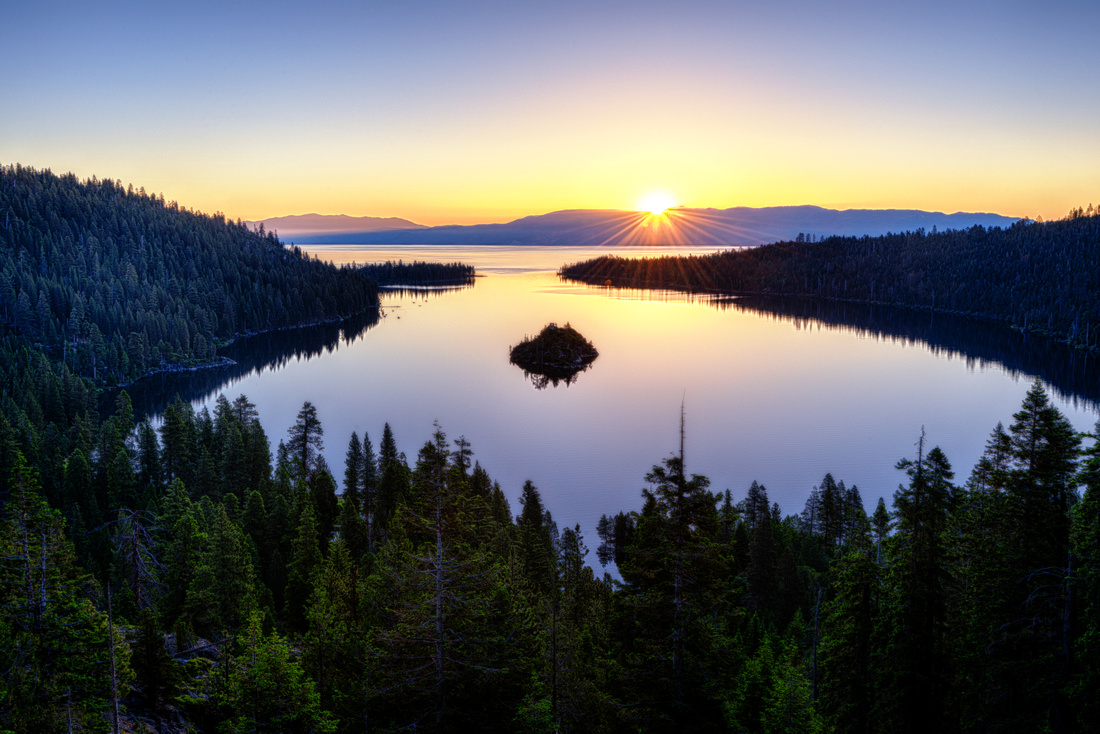 Lake Tahoe's Inspiration Point