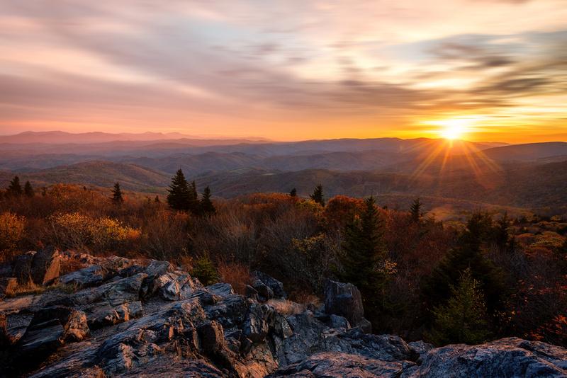 Little Pinnacles Sunset