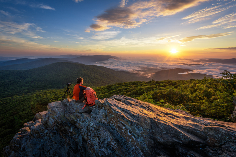 Photographing Humpback Rock